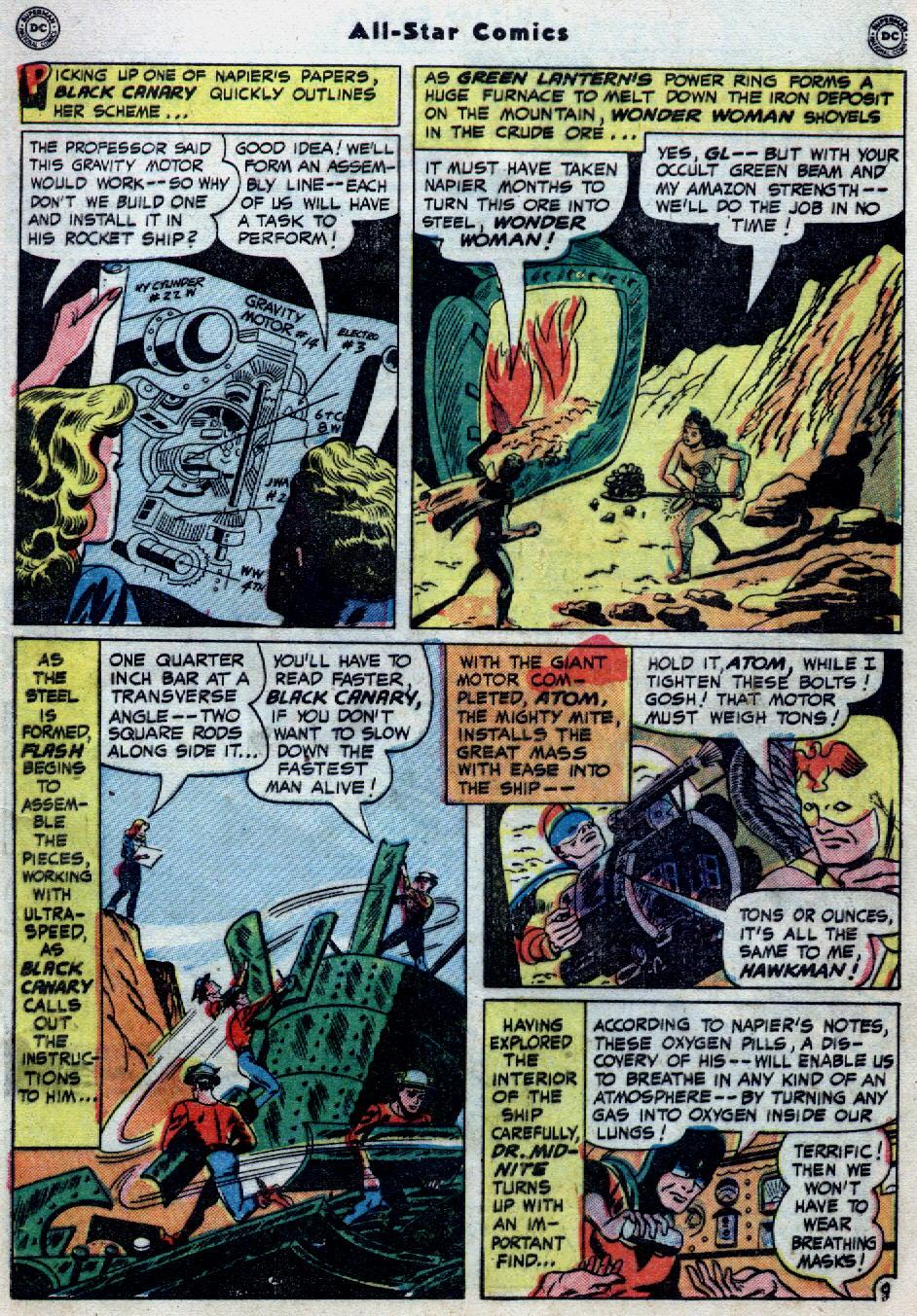 Read online All-Star Comics comic -  Issue #55 - 11