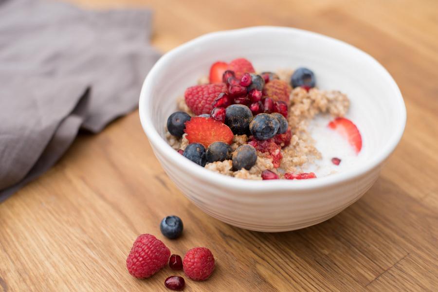 Zdrowe śniadanie w pięć minut.