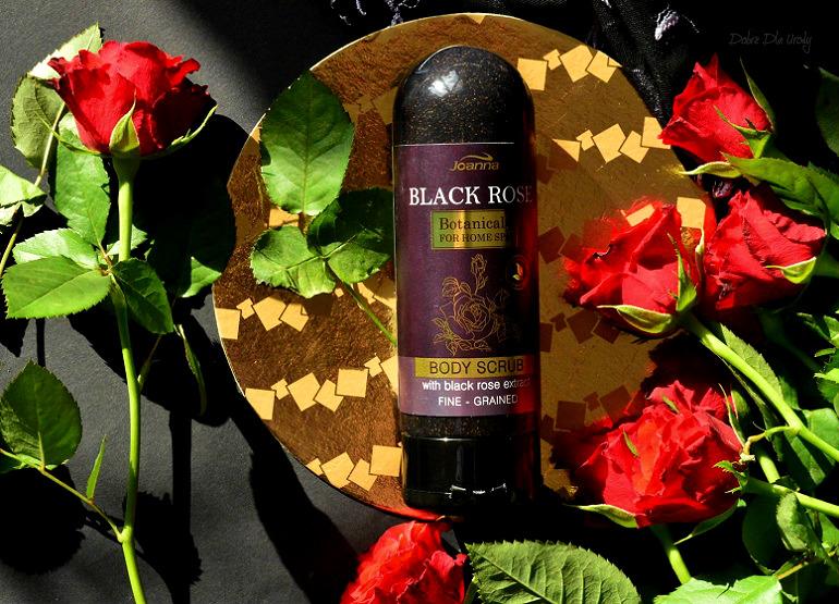 Peeling do ciała z ekstraktem z Czarnej Róży Joanna  recenzja