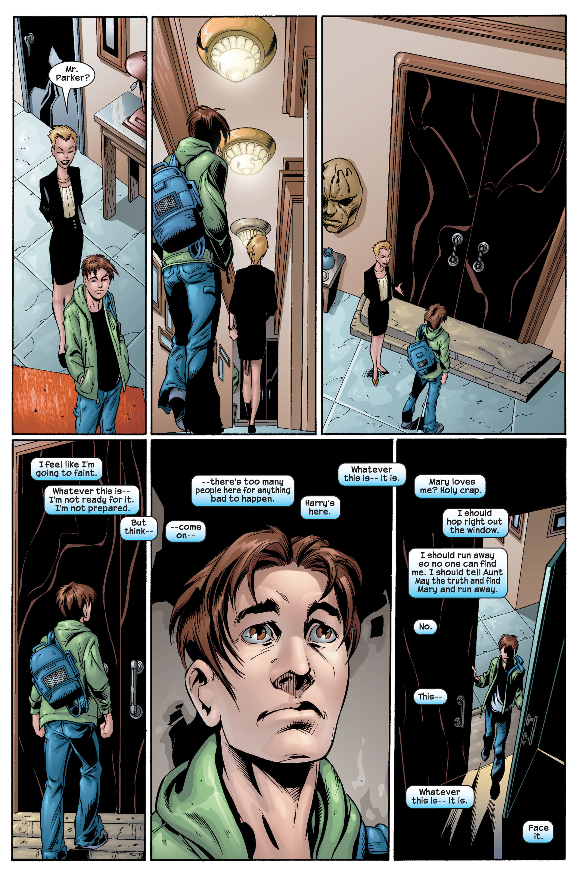 Read online Ultimate Spider-Man (2000) comic -  Issue #22 - 32