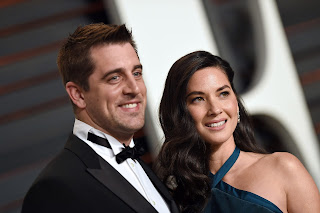 Aaron Rodgers And His Wife