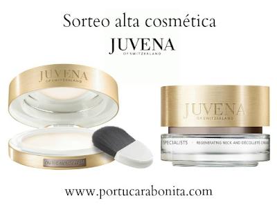 Sorteo alta cosmética Juvena of Switzerland