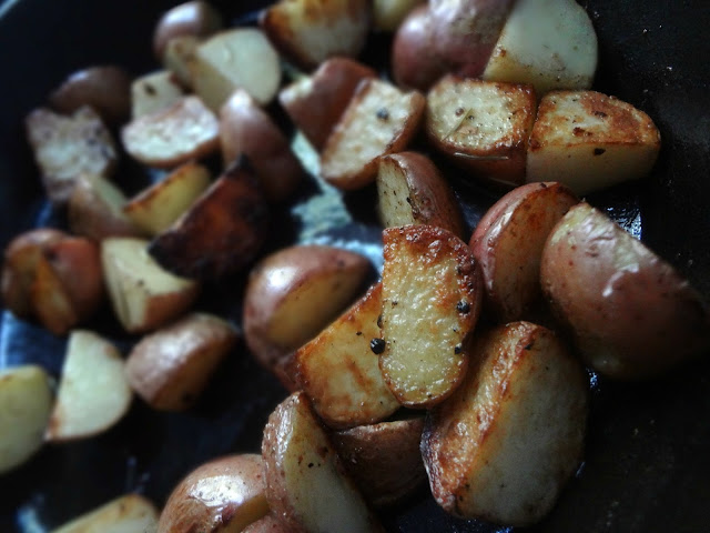 Roasted Skillet Potatoes