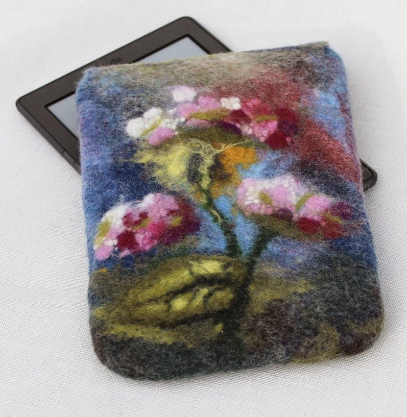 Wet felting, wool watercolour, Felty Pretties