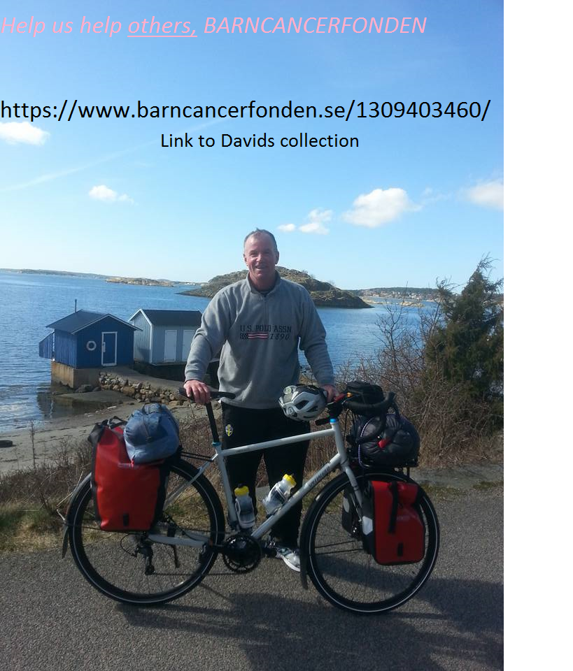 Malmo to Kiruna for barncancerfonden