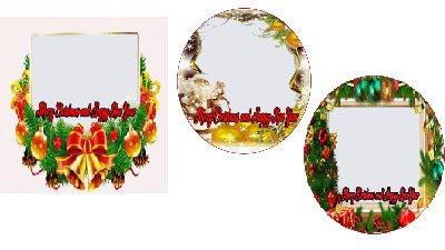Bingkai natal untuk foto profil facebook terbaru