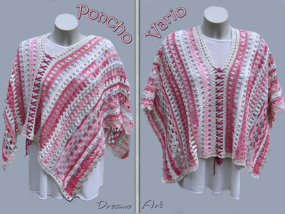 Dreams Art Poncho