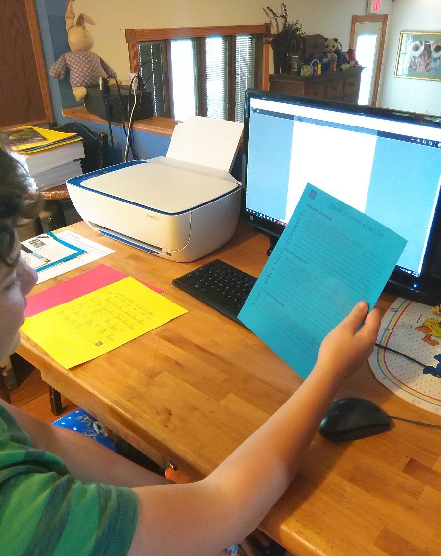 graphic regarding Hp Printable called Free of charge Printables Calendar Regular: Wifi Printer HP - Young children
