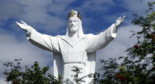 Estátua de Jesus Cristo dá que falar por distribuir Wi-Fi; veja vídeo