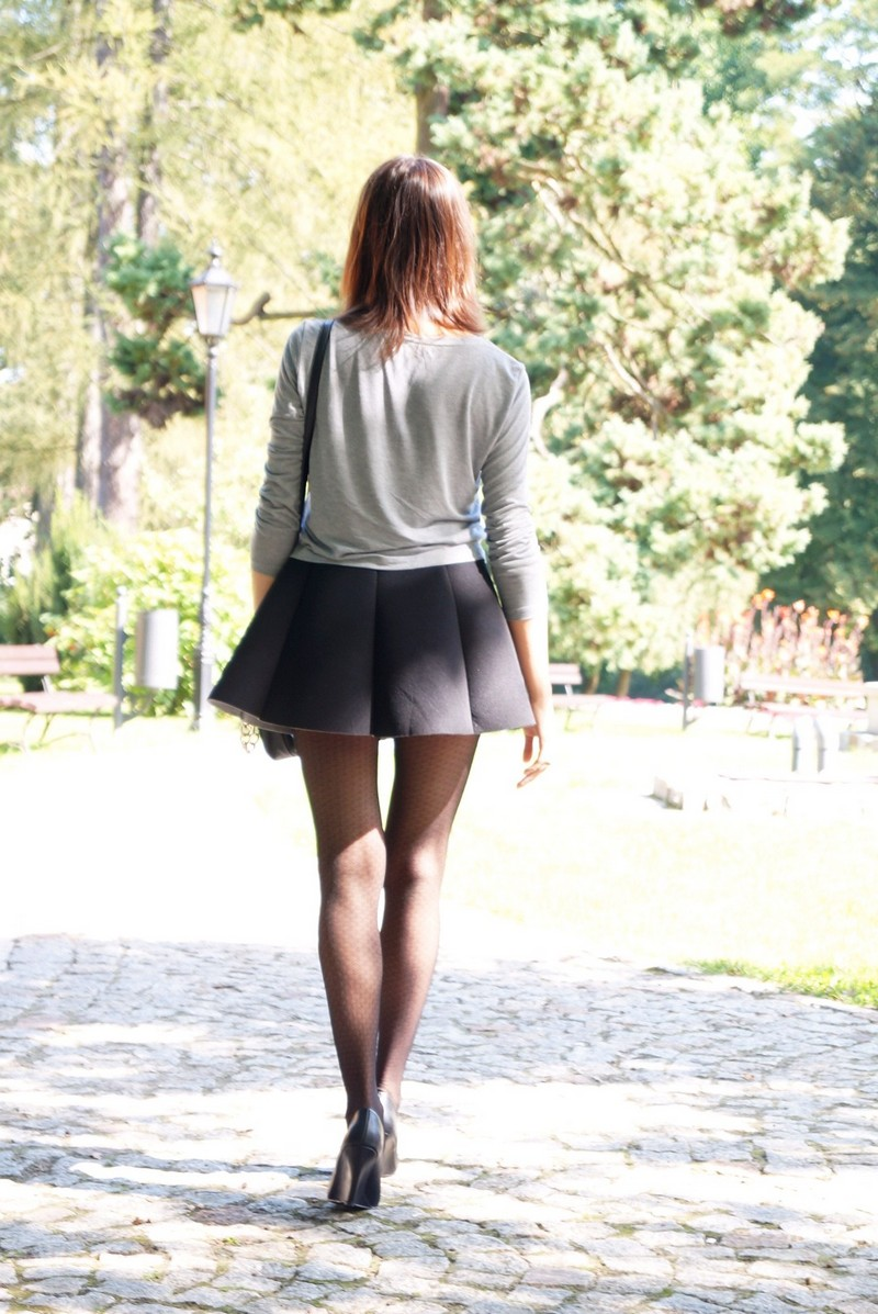 Autumn is Coming, in a Skater Skirt