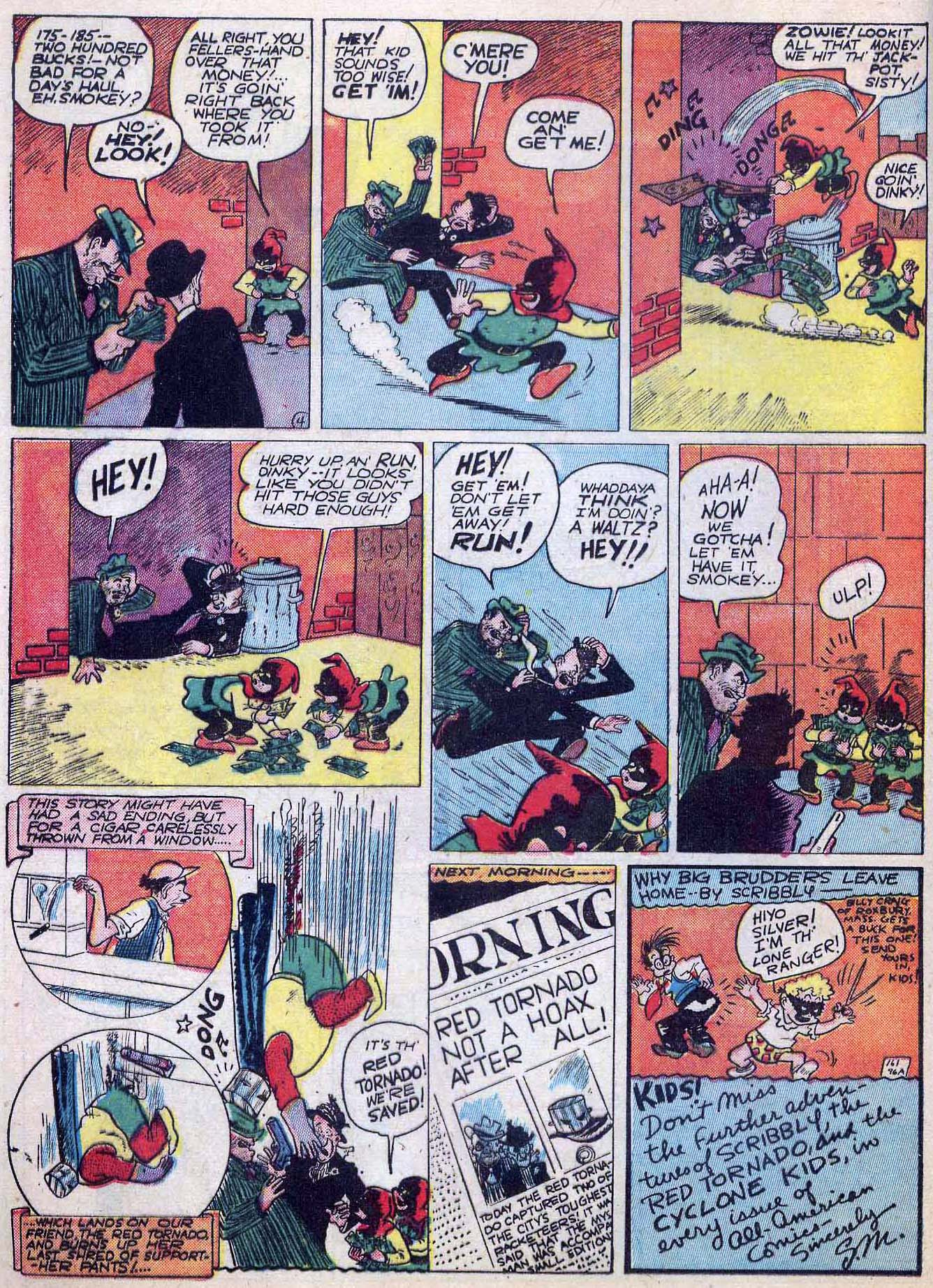 Read online All-American Comics (1939) comic -  Issue #24 - 16