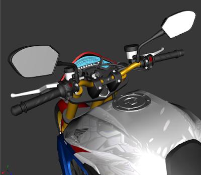 GTA SA - CB 1000R TRICOLOR