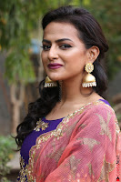 Actress Shraddha Srinath in Purple Chania Choli Cute Pics ~  Exclusive 18.jpg