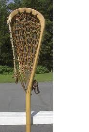 Nolan Clayton Wooden Lacrosse Stick Or Plastic