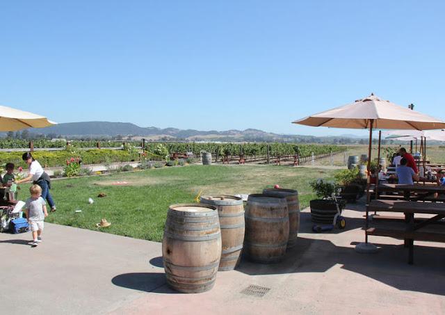 Ir com criança em vinícolas em Sonoma