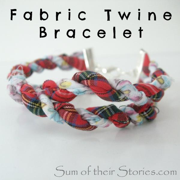 Fabric Twine Bracelet
