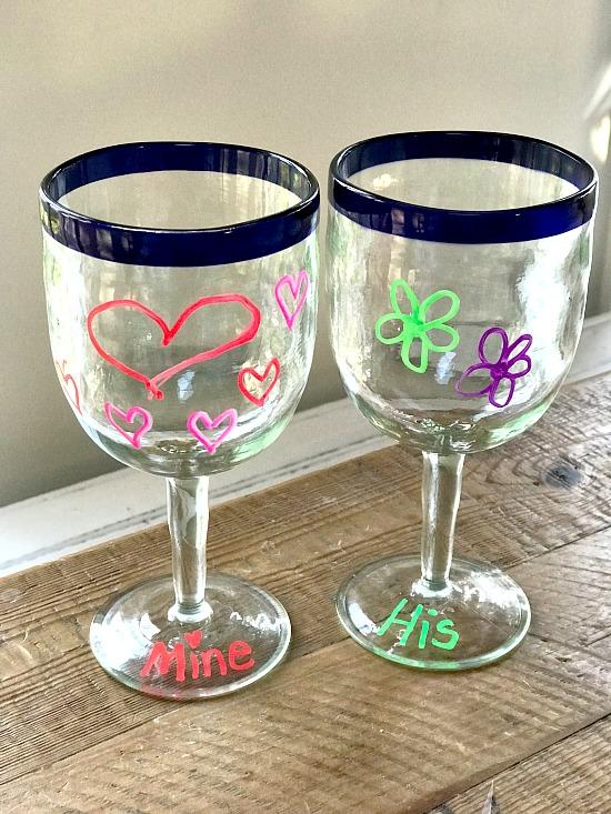 Chalkola Chalk Marker Wine glass Fun. Homeroad.net