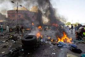 Three killed, 45 injured in twin suicide bomb attacks in Borno