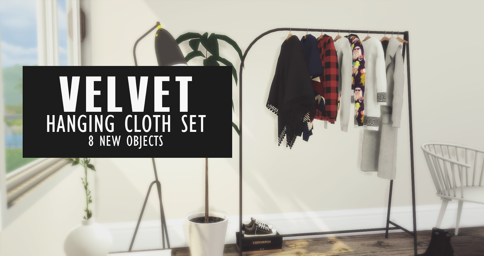 Velvet Hanging Cloths New Set