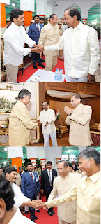 Pic Of The Day: Jagan's Handshakes with CBN & KCR! | andhra news daily