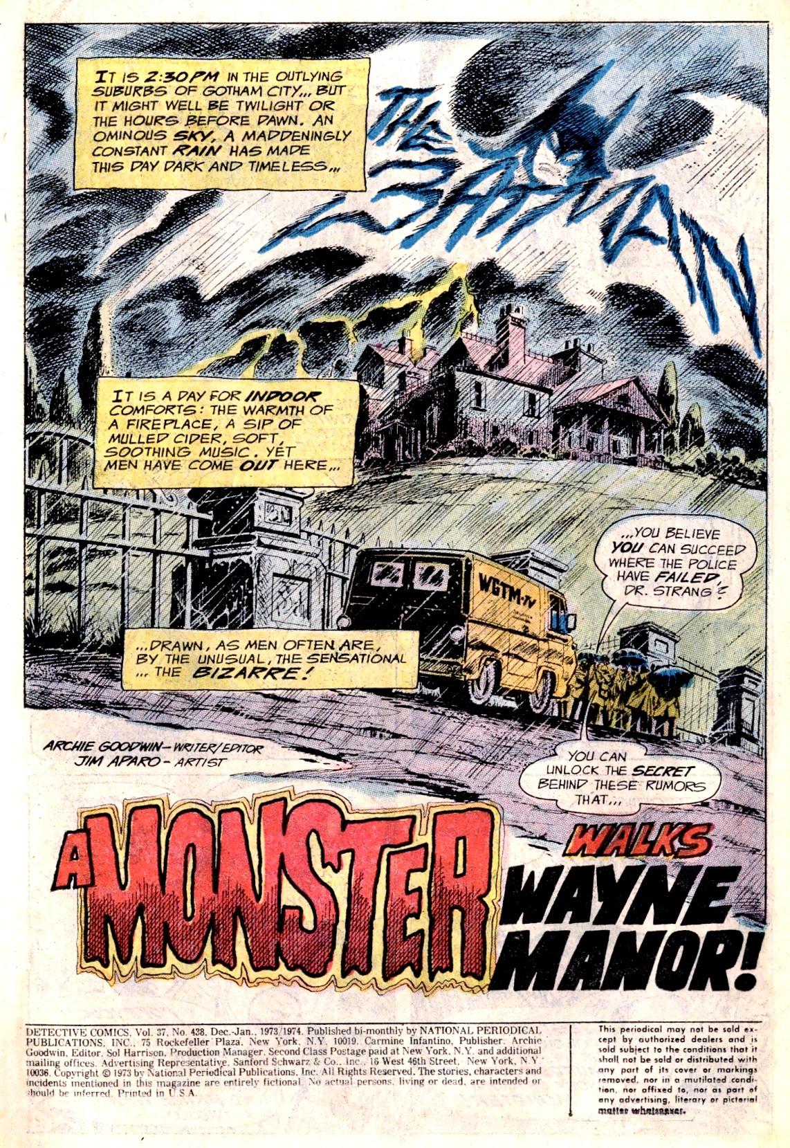 Detective Comics (1937) 438 Page 2