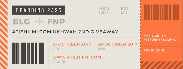 2ND GIVEAWAY ATIEHILMI.COM ft. 1ST DENTAL CLINIC
