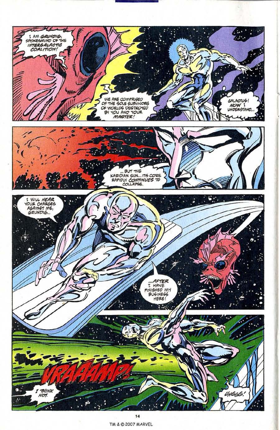 Silver Surfer (1987) Issue #103 #111 - English 16
