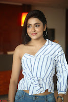 Avantika Mishra in One Shoulder Crop Top and Denim Jeggings ~  Exclusive 021.JPG
