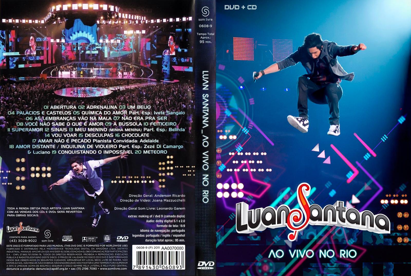 BAIXAR E O COMPLETO NOSSO DVD LUAN TEMPO SANTANA HOJE