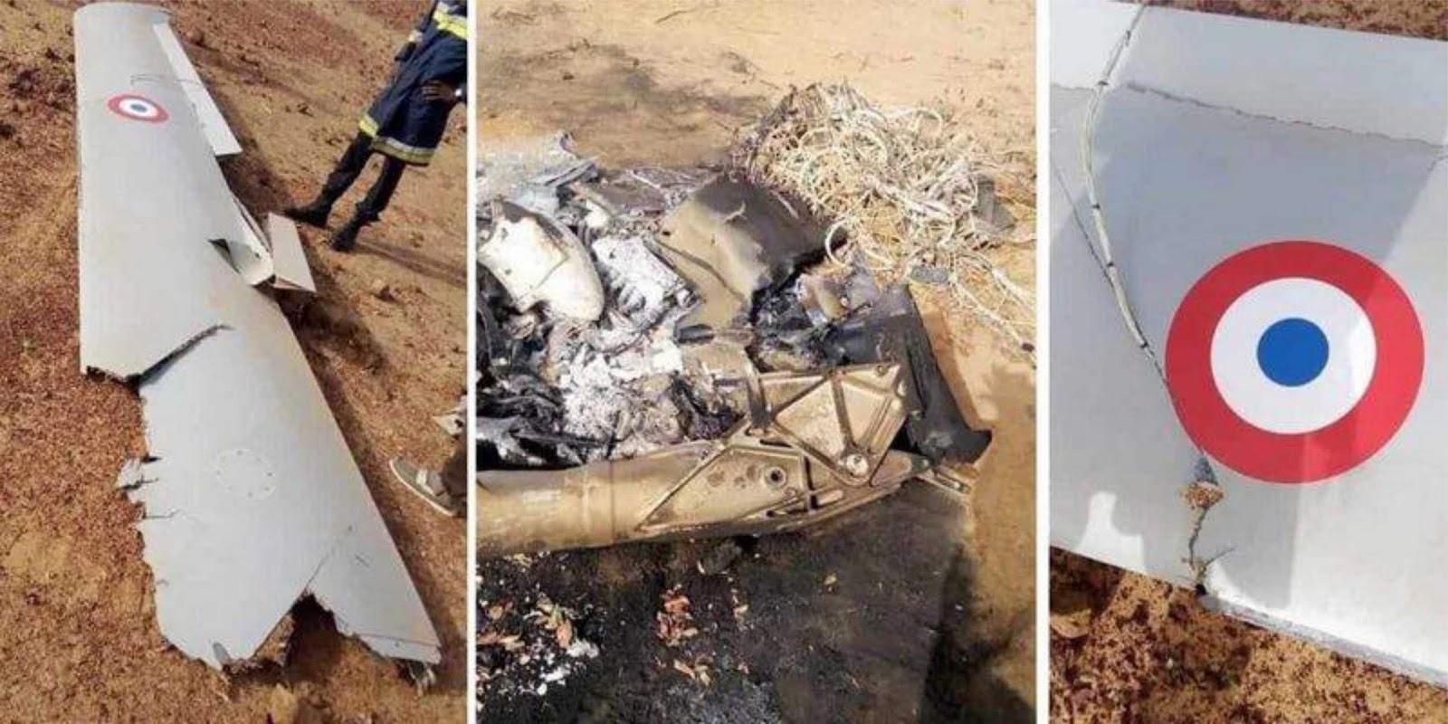 Pesawat tak berawak MQ-9 Reaper Prancis jatuh di Afrika