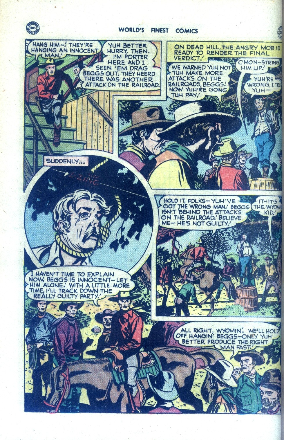 Read online World's Finest Comics comic -  Issue #43 - 22