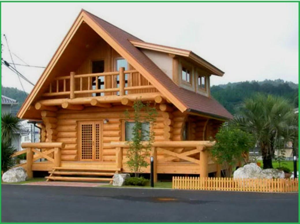 Desain Rumah Kayu Minimalis 2 Lantai Sederhana Desain Rumah Minimalis