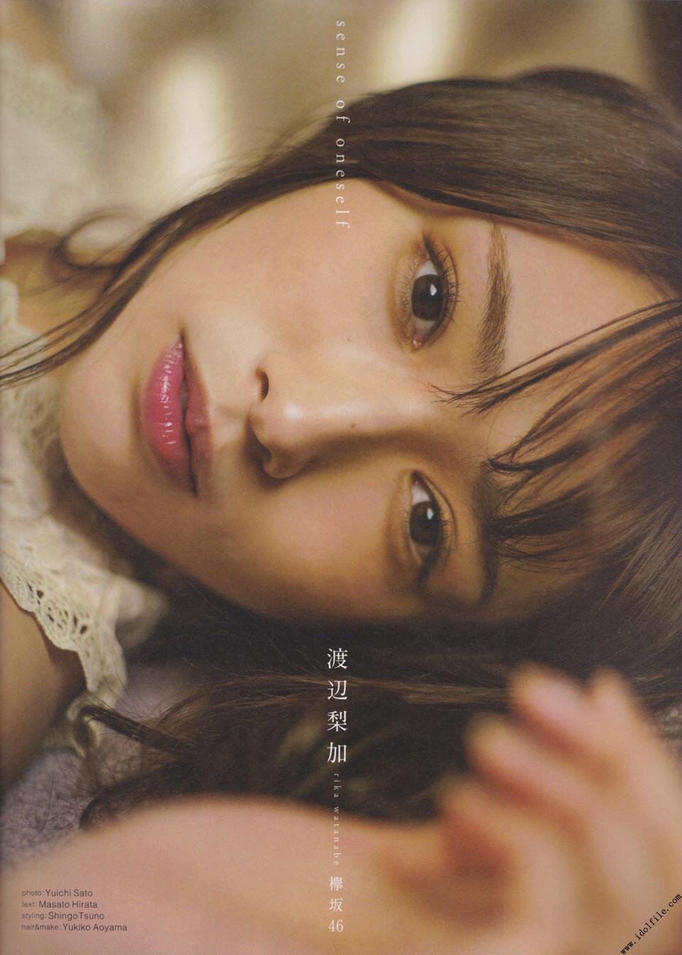 Watanabe Rika 渡辺梨加, B.L.T Graph 2018年1月号 Vol.27