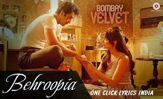 Behroopia Song Lyrics
