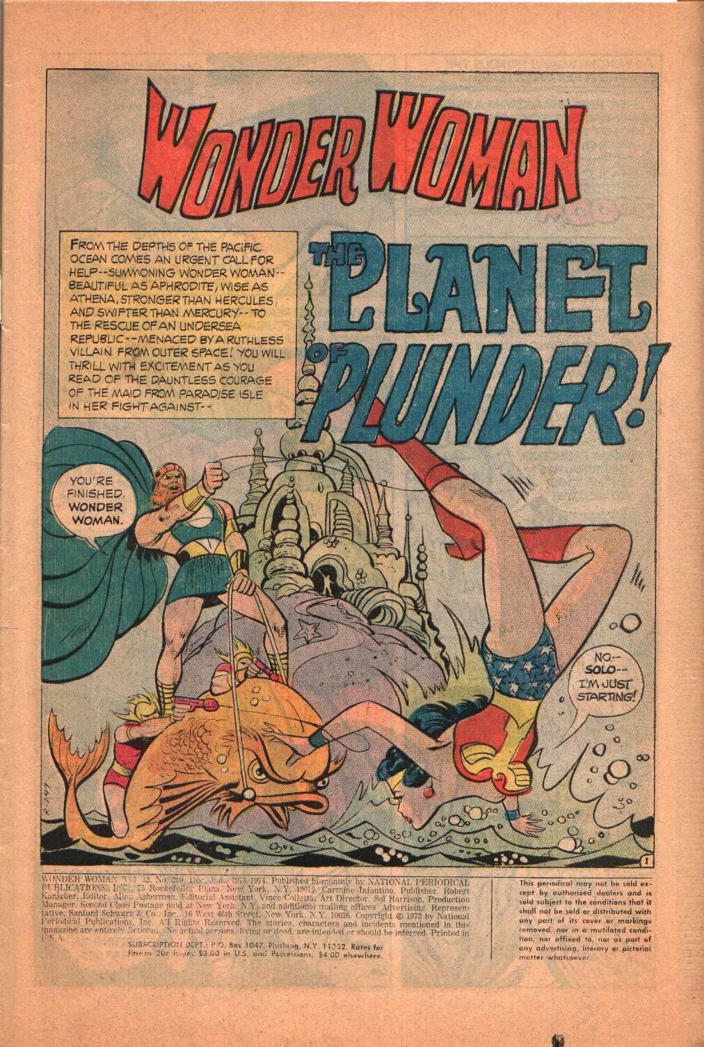 Read online Wonder Woman (1942) comic -  Issue #209 - 3