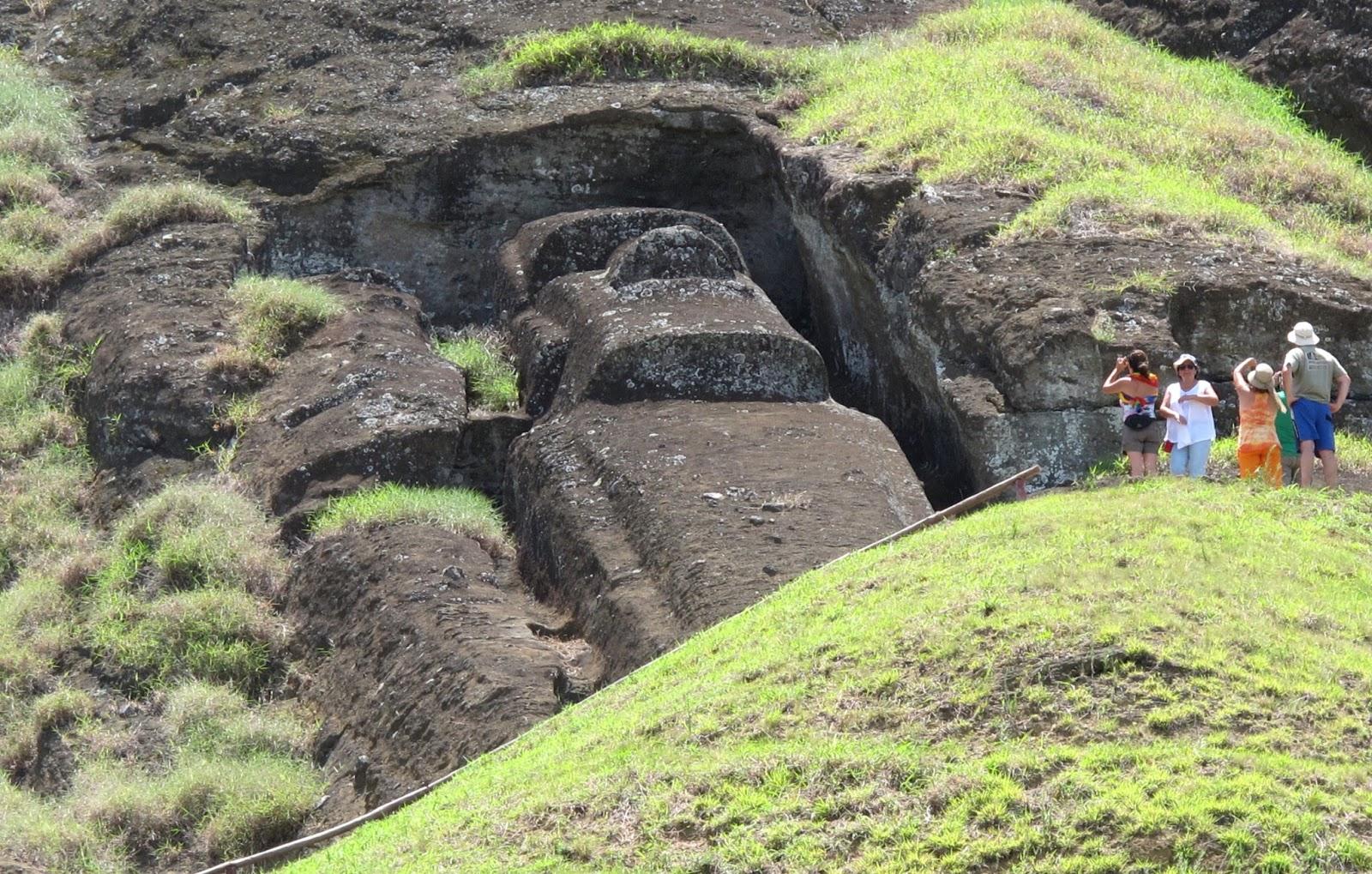 Civilta Antiche E Antichi Misteri Ranu Raraku La Cava Da