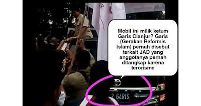 Mobil yang Ditumpangi Prabowo Milik Ketum Gerakan Reformis Islam (Garis) Cianjur?