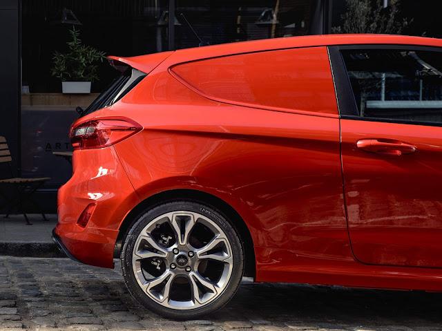 Novo Ford Fiesta Van 2019
