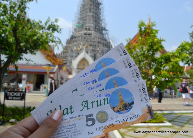 Wat Arun tickets