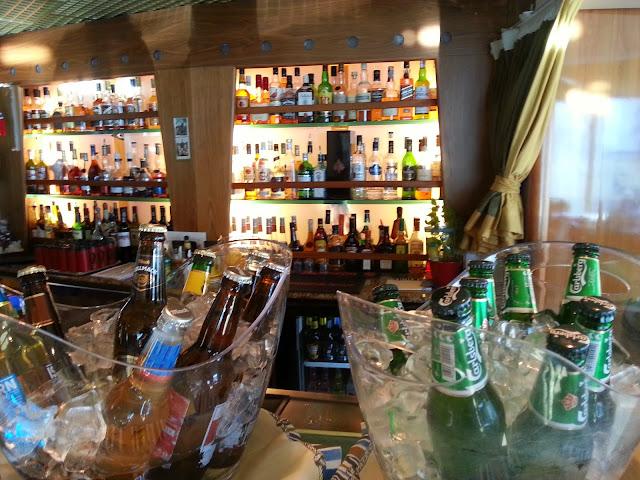 Hurtigruten MS Trollfjord - Fjord Bar