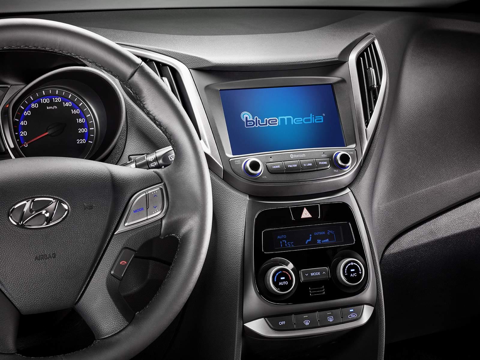 Hyundai HB20 2017 - interior
