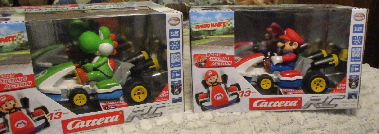 Missys Product Reviews : Hammacher Schlemmer RC Mario Kart Racers