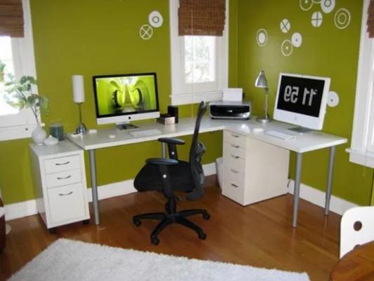 Desain Ruang Kerja Pribadi Di Dalam Rumah