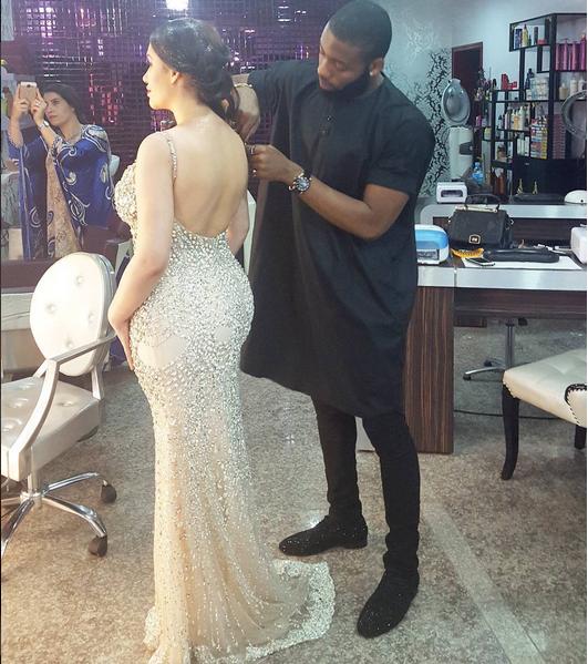 Jeremiah obodo styles caroline danjuma at luxury addict for Nikki o salon lagos