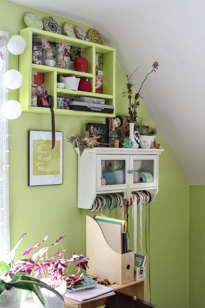 My Giant Strawberry, wall shelves, patchwork shelf