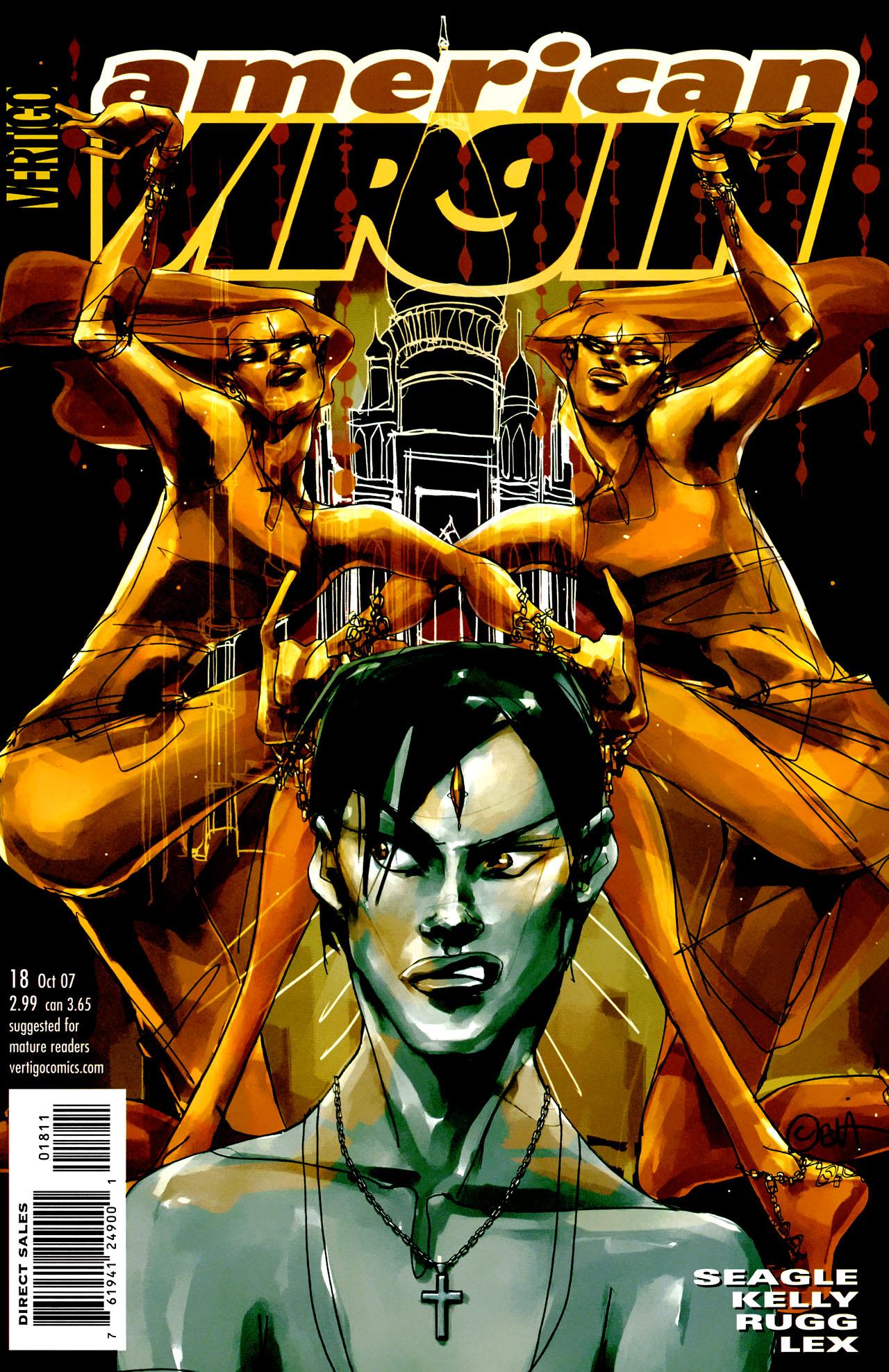Read online American Virgin comic -  Issue #18 - 1