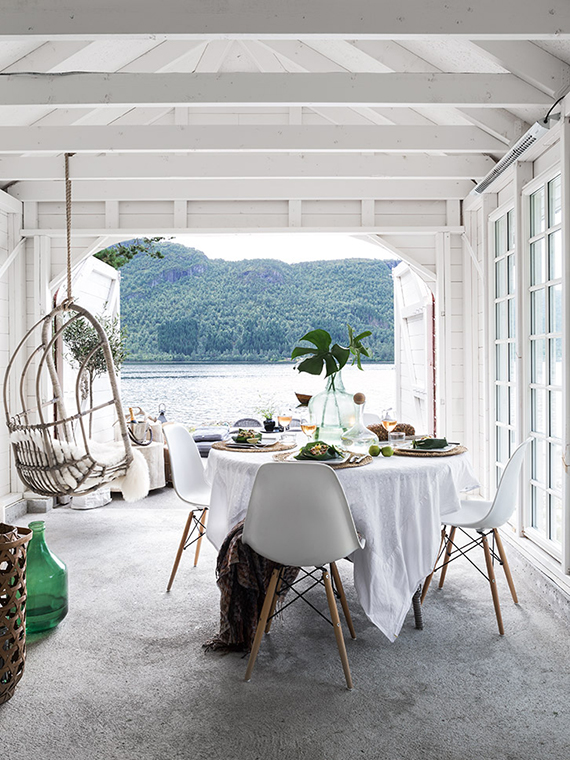 Boathouse in Norway. Image by Carina Olander