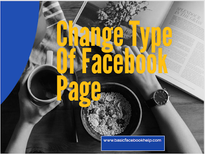 Change Type Of Facebook Page