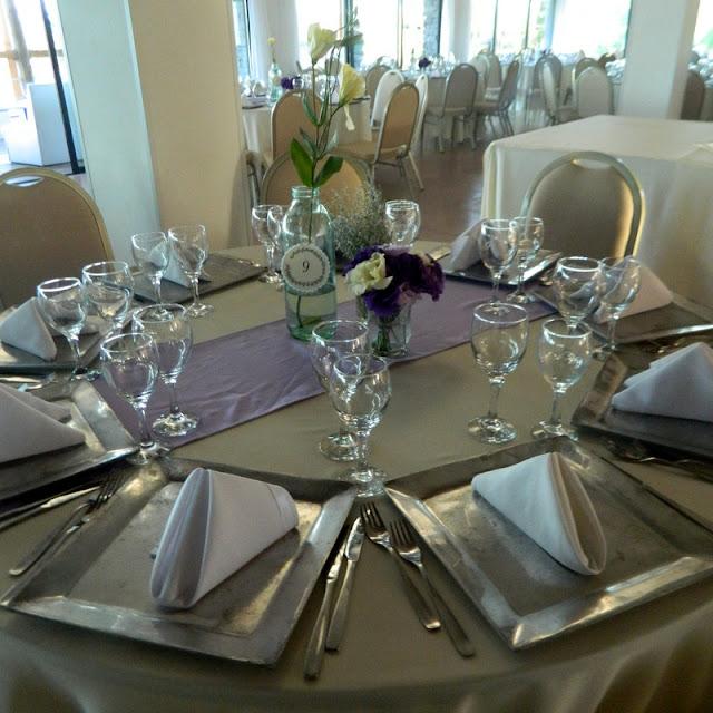Centro de mesa para casamiento