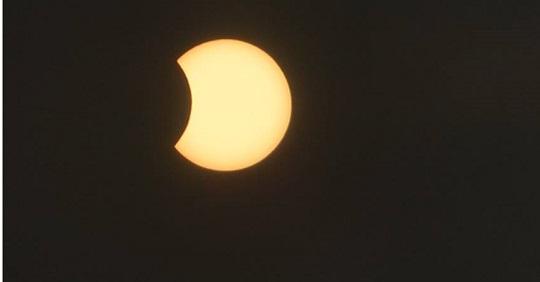 Eclipse solar, Anel de fogo,também foi visto pelos Limoeirenses